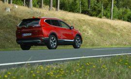 Honda CR-V in rot