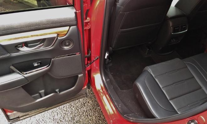 Honda CR-V hinten sitzen
