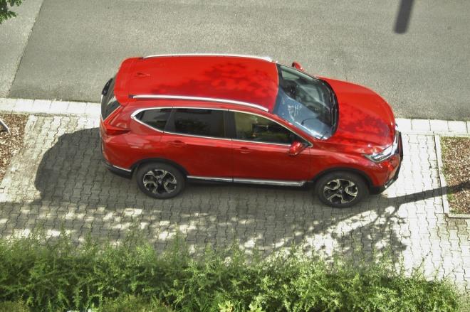 Honda CR-V Rot Seitenansicht