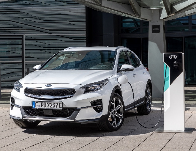 Kia XCeed Plug-in-Hybrid laden