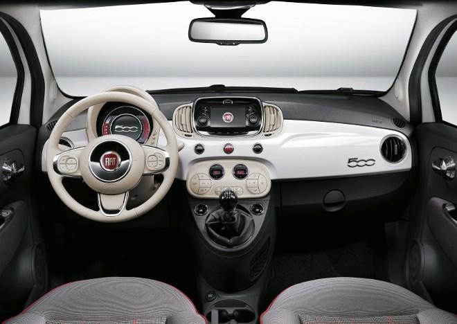 Neuer Fiat 500 im Test,, Cockpit