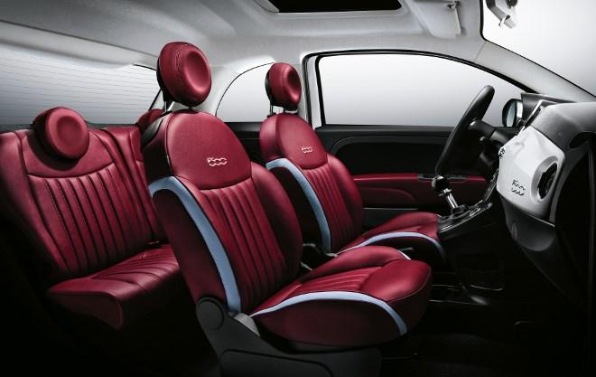 Neuer Fiat 500 Ledersitze
