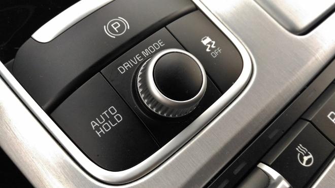 Kia Stinger Drive Mode Schalter Drehregler