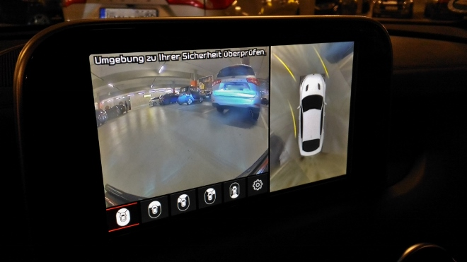 Kia Stinger Kamera 360 Grad Rundumsichtsystem