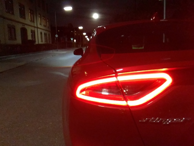Kia Stinger Heckleuchte Rear lights