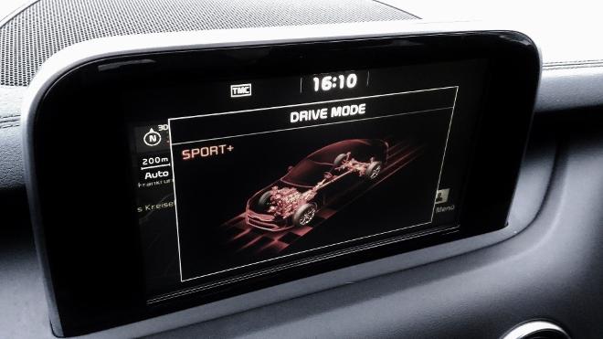 Kia Stinger Drive Mode Sport+