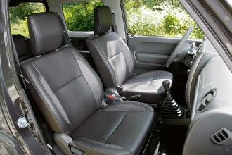 Suzuki-Jimny-Innenraum-Test