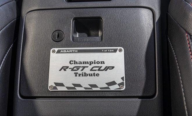 Abarth 124 Rally Tribute Emblem 2019