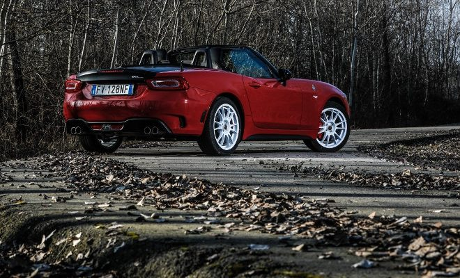 Abarth 124 Rally Tribute, red