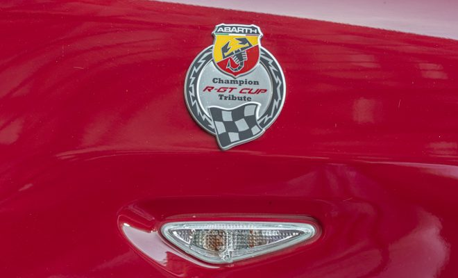 Abarth 124 Rally Tribute, red, rot