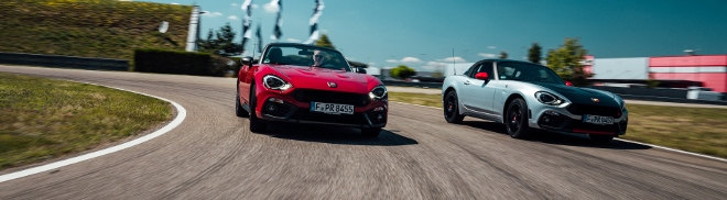 Fiat Abarth 124 GT Spider 2018 racing