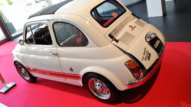 Fiat 500 Abarth altes Modell