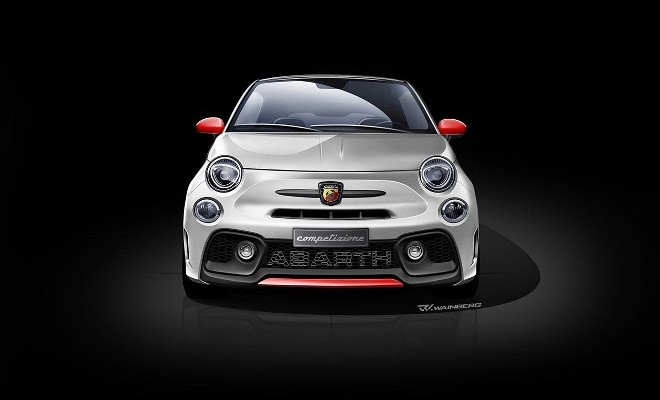 Abarth 595 Biposto 190 PS 2018 Front