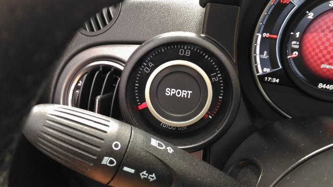 Abarth 595C Turismo Sport Rot