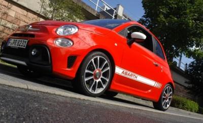 Abarth 595C Turismo Rot Seite Vorne