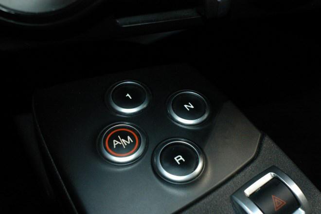 Alfa Romeo 4C Schaltung