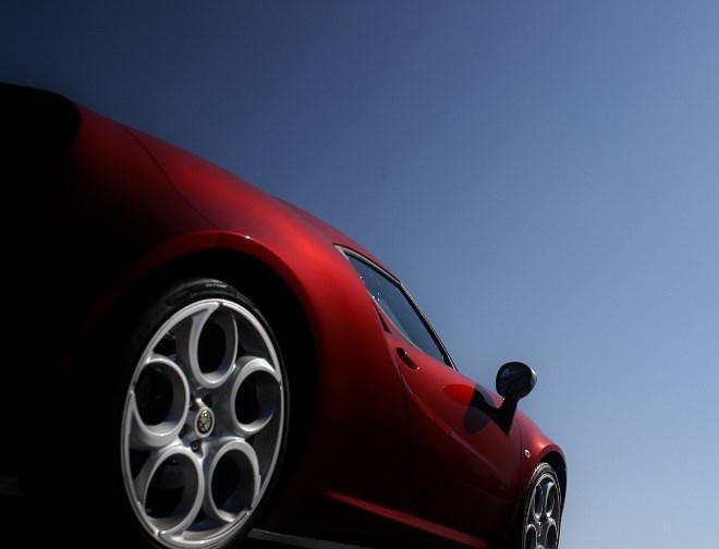 Alfa Romeo 4C Test