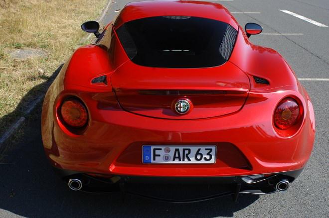 Alfa Romeo 4C Heck