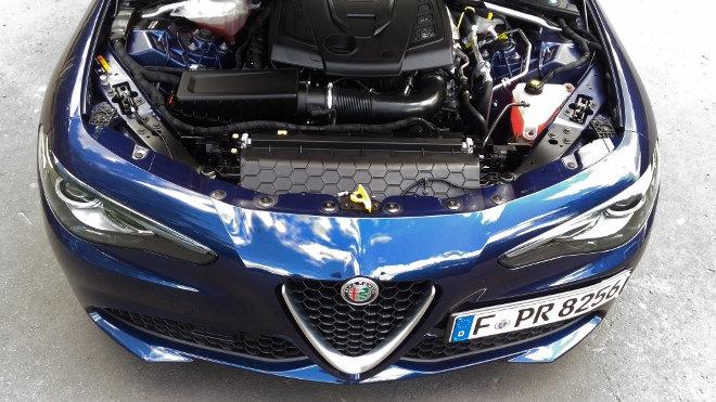 Alfa Romeo Giulia, 2.0 Turbmotor