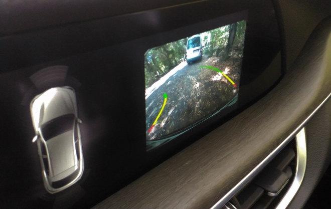 Alfa Stelvio SUV Kamera, Übersicht Heck