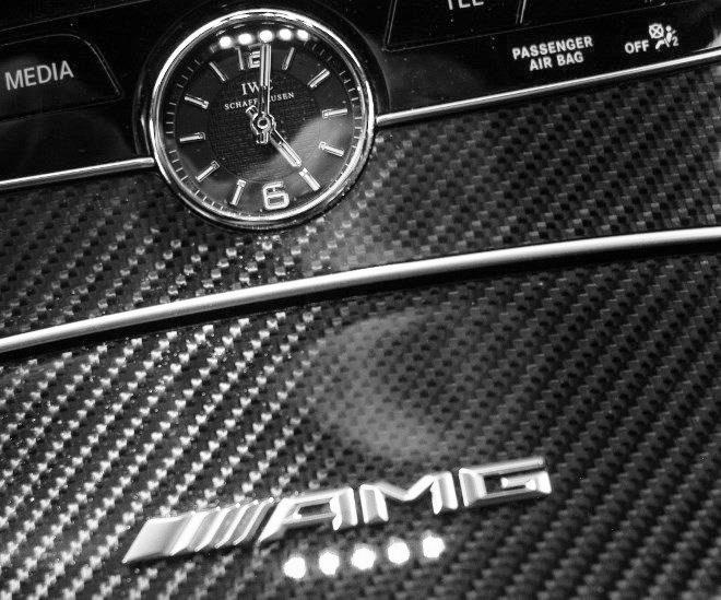 AMG C63 S Uhr