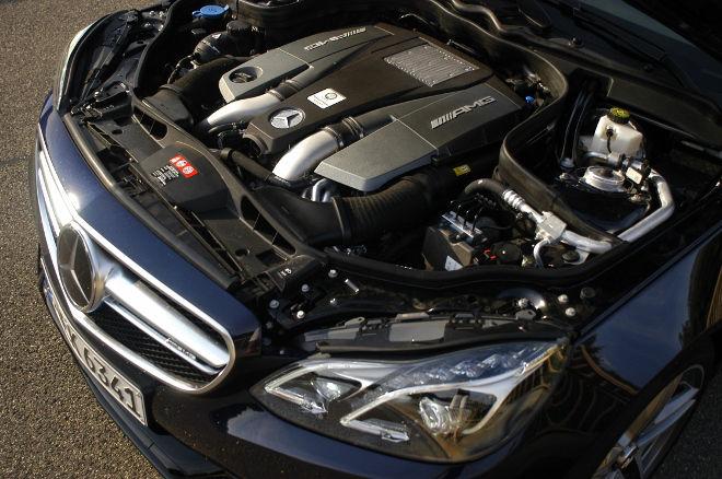 Mercedes AMG E63 S Motor, 585 PS