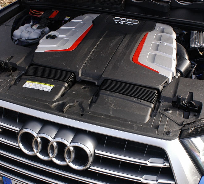 Audi SQ7 V8 TDI Motor