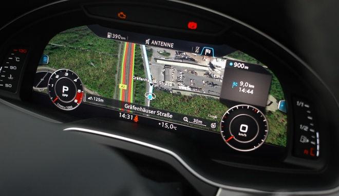 Audi SQ7 V8 TDI Digitales Cockpit