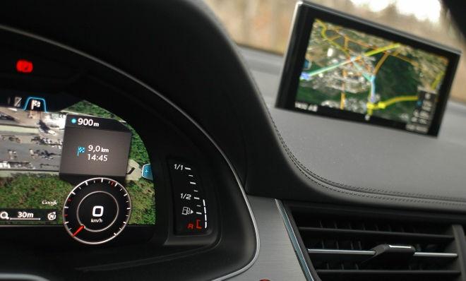 Audi SQ7 V8 TDI Monitor