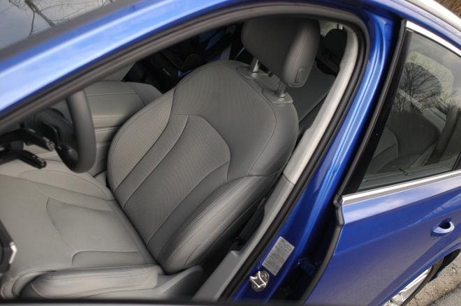 Audi SQ7 V8 TDI Sitze Leder grau