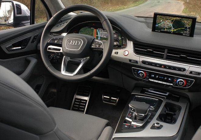 Audi SQ7 V8 TDI Armaturenbrett