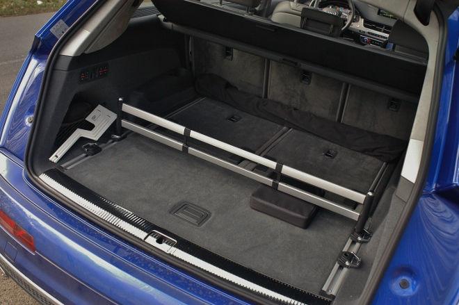 Audi SQ7 V8 TDI Kofferraum