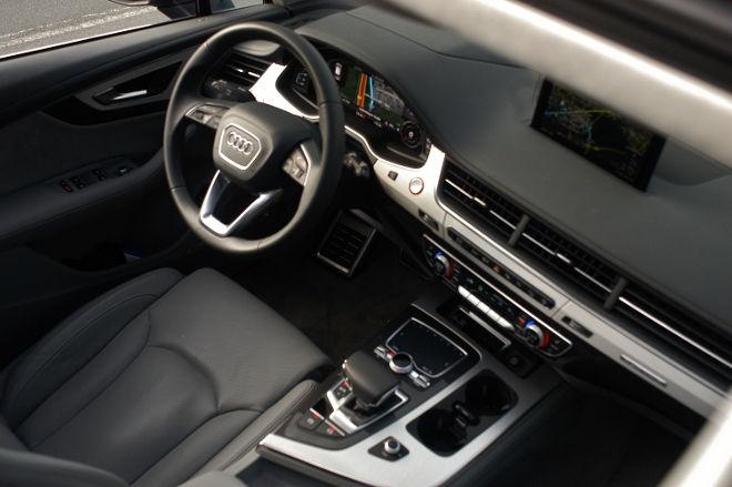 Audi SQ7 V8 TDI Innenraum