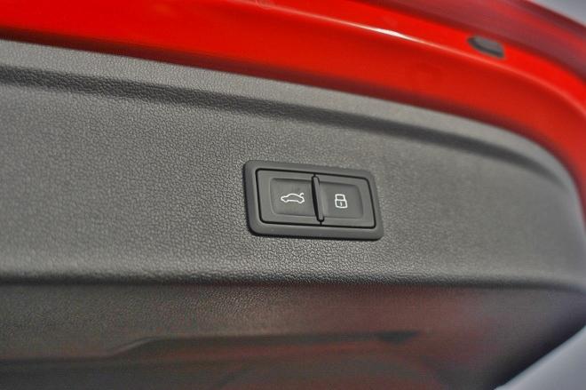 Audi A3 Sportback Schalter der elektrischen Heckklappe