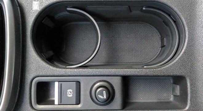 Audi A3 Sportback doppel Becherhalter zwischen den Vordersitzen