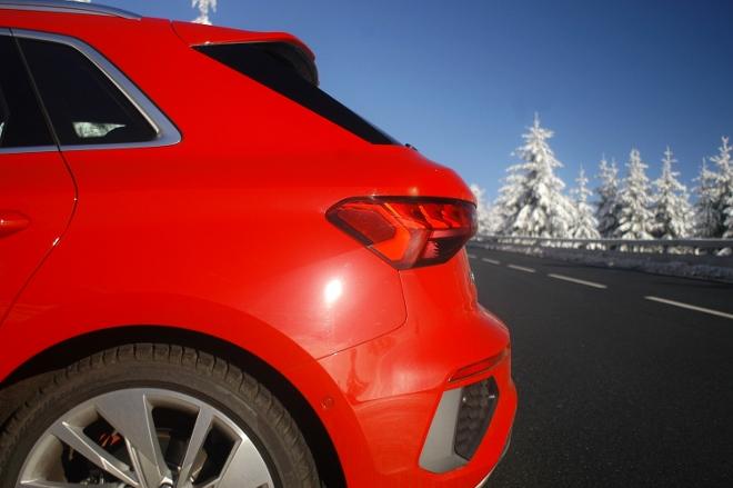 Audi A3 Sportback Heck