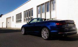 Audi A5 Cabrio TDI blau