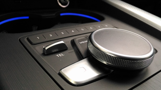 Audi A5 Cabrio TDI Bediensystem