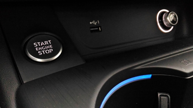 Audi A5 Cabrio TDI Startschalter