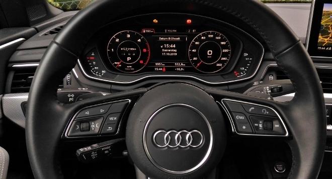 Audi A5 Cabrio TDI Lenkrad