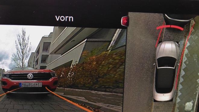 Audi A5 Cabrio TDI Kameras