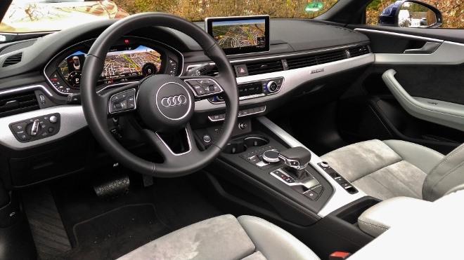Audi A5 Cabrio TDI Armaturenbrett