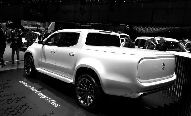 Genfer Autosalon 2017 Mercedes Pickup Concept