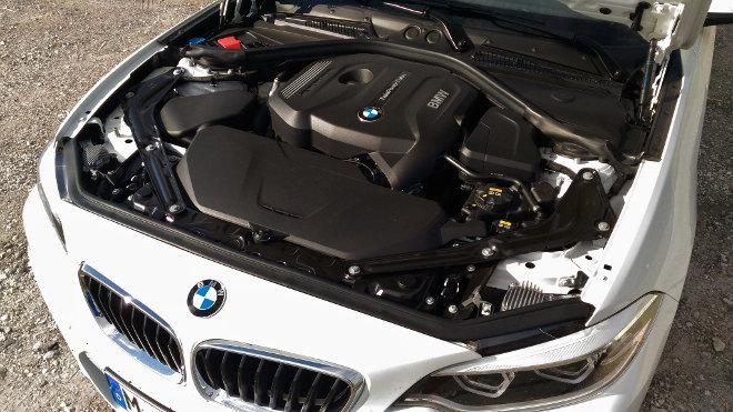 BMW 220i Cabrio Motor 184 PS