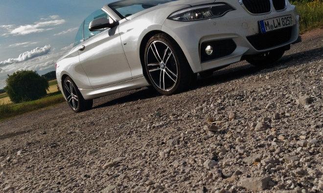BMW 220i Cabrio weiss seite 2018