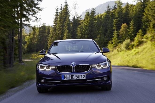 BMW 3er Facelift Frontpartie