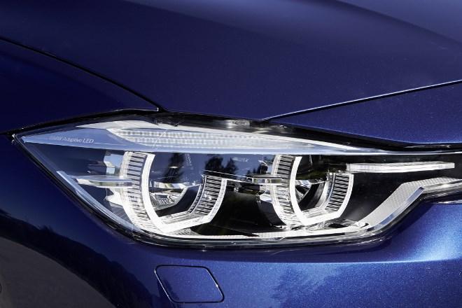 BMW 3er Facelift Scheinwerfer
