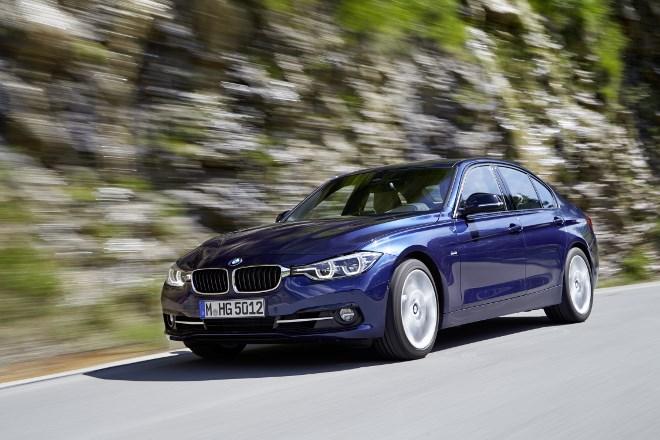 BMW 3er Facelift Seite