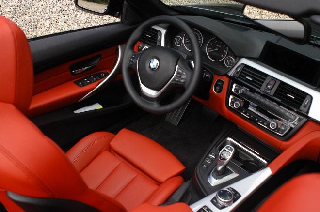 BMW 430d Cabrio Cockpit