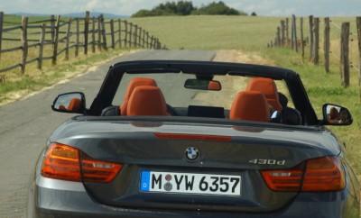 BMW 430d Cabrio Heck Test